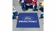 Fan Mats 15778  Ford Racing on Blue 5' x 6' Tailgater Mat