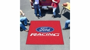 Fan Mats 15779  Ford Racing on Red 5' x 6' Tailgater Mat