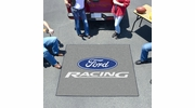 Fan Mats 15780  Ford Racing on Gray 5' x 6' Tailgater Mat