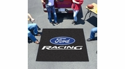 Fan Mats 15781  Ford Racing on Black 5' x 6' Tailgater Mat