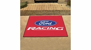 "Fan Mats 15799  Ford Racing on Red 33.75"" x 42.5"" All Star Mat"
