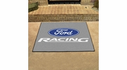 "Fan Mats 15800  Ford Racing on Gray 33.75"" x 42.5"" All Star Mat"
