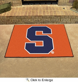 "Fan Mats 15948  Syracuse University Orange 33.75"" x 42.5"" All Star Mat"