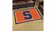 Fan Mats 15949  Syracuse University Orange 4' x 6' Area Rug