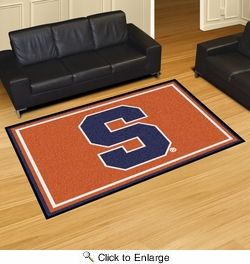 Fan Mats 15950  Syracuse University Orange 5' x 8' Area Rug