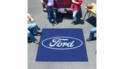 Fan Mats 16082  Ford Oval on Blue 5' x 6' Tailgater Mat