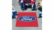 Fan Mats 16083  Ford Oval on Red 5' x 6' Tailgater Mat