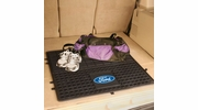 "Fan Mats 16118  Ford Oval 31"" x 31"" Heavy Duty Vinyl Cargo Mat"