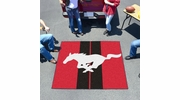 Fan Mats 16684  Ford - Mustang Horse on Red 5' x 6' Tailgater Mat