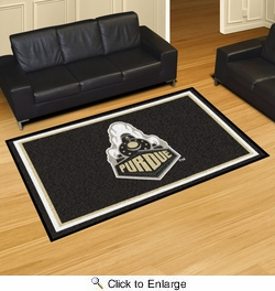 Fan Mats 16822  Purdue University Boilermakers 5' x 8' Area Rug