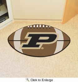 "Fan Mats 16827  Purdue University Boilermakers 20.5"" x 32.5"" Football Mat"