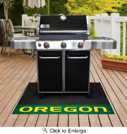 "Fan Mats 16849  University of Oregon Ducks 26"" x 42"" Grill Mat"