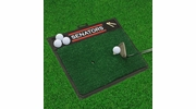 "Fan Mats 17046  NHL - Ottawa Senators 20"" x 17"" Golf Hitting Mat"