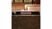 "Fan Mats 17048  NHL - Ottawa Senators 3.25"" x 24"" Drink Mat"