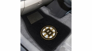 Fan Mats 17088  NHL - Boston Bruins 2-pc Embroidered Car Mat Set