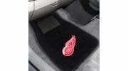 Fan Mats 17089  NHL - Detroit Red Wings 2-pc Embroidered Car Mat Set