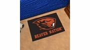 "Fan Mats 17106  Oregon State University Beavers 'Beaver Nation' 19"" x 30"" Starter Mat"