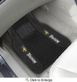 "Fan Mats 17125  Towson University Tigers 21"" x 27"" Deluxe Car Mat Set"