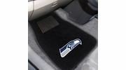 Fan Mats 17128  NFL - Seattle Seahawks 2-pc Embroidered Car Mat Set