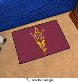 "Fan Mats 17139  Arizona State University Sun Devils 19"" x 30"" Starter Mat"