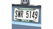 Fan Mats 17178  NHL - Minnesota Wild License Plate Frame