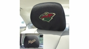 "Fan Mats 17180  NHL - Minnesota Wild 10"" x 13"" Head Rest Covers"