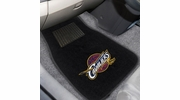 Fan Mats 17206  NBA - Cleveland Cavaliers 2-pc Embroidered Car Mat Set