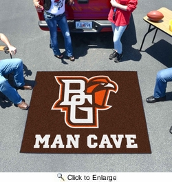 Fan Mats 17251  Bowling Green State University Falcons 5' x 6' Man Cave Tailgater Mat