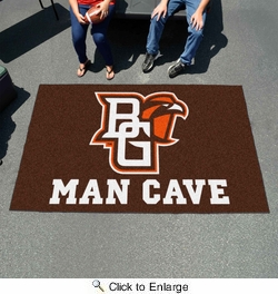 Fan Mats 17252  Bowling Green State University Falcons 5' x 8' Man Cave Ulti-Mat