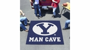 Fan Mats 17255  Brigham Young University Cougars 5' x 6' Man Cave Tailgater Mat