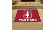 "Fan Mats 17278  Stanford University Cardinal 33.75"" x 42.5"" Fan Cave All-Star Mat"