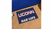 "Fan Mats 17297  University of Connecticut Huskies 19"" x 30"" Man Cave Starter Mat"