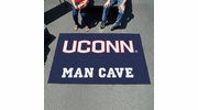 Fan Mats 17300  University of Connecticut Huskies 5' x 8' Man Cave Ulti-Mat