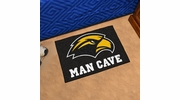 "Fan Mats 17321  University of Southern Mississippi Golden Eagles 19"" x 30"" Man Cave Starter Mat"