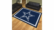 Fan Mats 17372  NFL - Dallas Cowboys 8' x 10' Area Rug