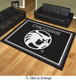 Fan Mats 17401  California State University - Chico Wildcats 8' x 10' Area Rug