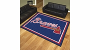 Fan Mats 17412  MLB - Atlanta Braves 8' x 10' Area Rug