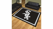 Fan Mats 17416  MLB - Chicago White Sox 8' x 10' Area Rug
