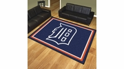 Fan Mats 17420  MLB - Detroit Tigers 8' x 10' Area Rug
