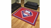 Fan Mats 17431  MLB - Philadelphia Phillies 8' x 10' Area Rug