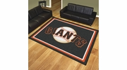 Fan Mats 17434  MLB - San Francisco Giants 8' x 10' Area Rug