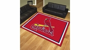 Fan Mats 17436  MLB - St. Louis Cardinals 8' x 10' Area Rug