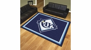 Fan Mats 17437  MLB - Tampa Bay Rays 8' x 10' Area Rug