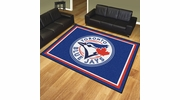 Fan Mats 17439  MLB - Toronto Blue Jays 8' x 10' Area Rug