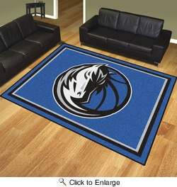 Fan Mats 17448  NBA - Dallas Mavericks 8' x 10' Area Rug