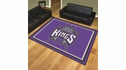 Fan Mats 17467  NBA - Sacramento Kings 8' x 10' Area Rug