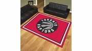 Fan Mats 17469  NBA - Toronto Raptors 8' x 10' Area Rug