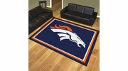 Fan Mats 17480  NFL - Denver Broncos 8' x 10' Area Rug