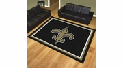 Fan Mats 17490  NFL - New Orleans Saints 8' x 10' Area Rug