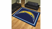 Fan Mats 17495  NFL - San Diego Chargers 8' x 10' Area Rug